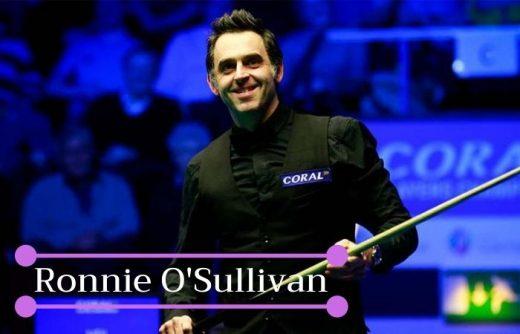 รู้จักกับ Ronnie O'Sullivan เจ้าของตำแหน่งแชมป์สนุกเกอร์ระดับโลก